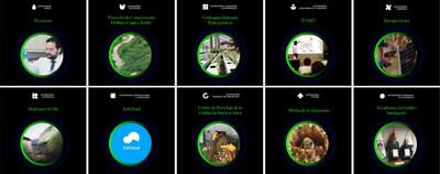 Ganadores de la séptima edición de Premios Latinoamérica Verde