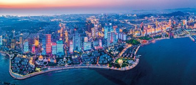 Beautiful Qingdao, where the 16th Summer Summit of Yabuli China Entrepreneurs Forum 2020 was being held