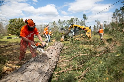 Samaritan's Purse volunteers help families in Tuscaloosa, Alabama recover from the storm.