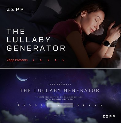 Create a lullaby for your family and friends on World Sleep Day. http://www.zepplullaby.com/