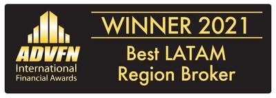 ATFX premiado como Mejor Broker de la Región LATAM en los Premios ADVFN 2021
