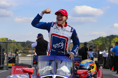 Alex Palou completed a hat trick of major international racing wins for Honda this weekend, scoring his first NTT INDYCAR SERIES victory at the Honda Indy Grand Prix of Alabama.