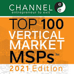 C Spire Business, the business IT services division of C Spire, has been named to After Nines Inc.'s ChannelE2E Top 100 vertical markets MSPs list and research for 2021. The annual list and research (#MSP100) identify and honor the top 100 managed service providers (MSPs) in the healthcare, legal, government, financial services, manufacturing and additional vertical markets.