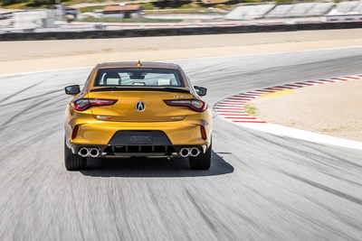 2021 Acura TLX Type S to Make Public Debut at the Acura Sports Car Challenge IMSA Race at Mid-Ohio