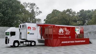 Huawei y ABGD lanzan el primer Road Show Huawei Solar en Brasil