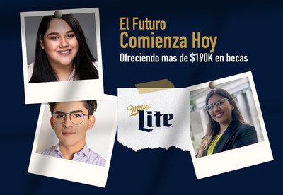 Miller Lite ofrece más de $190K en becas a estudiantes latinos mayores de 21 años en EE. UU. y Puerto Rico.