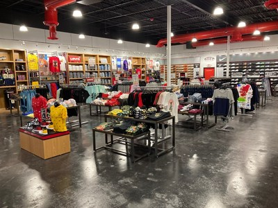 Tallahassee's first City Gear location. Photo source: Hibbett