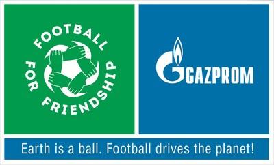 Gazprom - Football for Friendship Logo