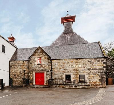 Cardhu Distillery, the Speyside home of Johnnie Walker.