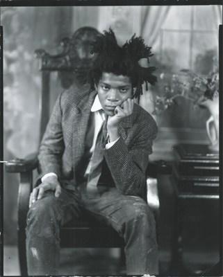 Jean-Michel Basquiat 1982 ©1983 Van Der Zee