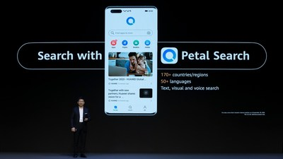 Petal Search on HUAWEI Mate 40 Series Launch