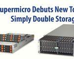Supermicro presenta nuevos sistemas de almacenamiento de carga superior