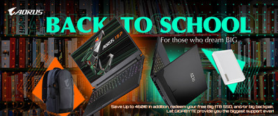 For Those Who Dream Big: Get The Best Laptop Deals at 2021 GIGABYTE Back To School Campaign